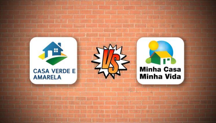 Diferenças entre o Casa Verde e Amarela e Minha Casa Minha Vida